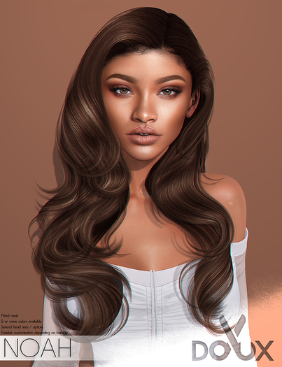 DOUX - Noah hairstyle [BLOGGER PACK]