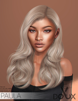 DOUX - Paula hairstyle [BLOGGER PACK]