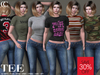 [CHIC] TEES LADIES COMPLETE COLLECTION