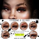 Hoodlem - Nepthys Eyebrows and Tattoos (Omega / BOM)