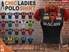 [CHIC] POLO LADIES SHIRTS RACER