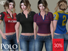 [CHIC] POLO LADIES SHIRTS COMPLETE COLLECTION