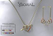 ~~ Ysoral ~~ .: Luxe Necklace Earrings Celia:.