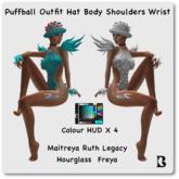Blackburns Puffball Outfit Maitreya Legacy Hourglass Freya