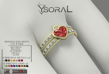 ~~ Ysoral ~~ .: Luxe Wedding Ring Lena:.(BENTO)