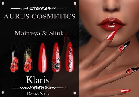 A U R U S - Klaris Bento Nails -Maitreya & Slink