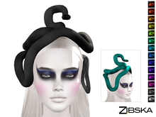 Zibska ~ Snek Color Change Snake Headpiece