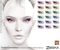 Zibska ~ Quella Eyemakeup in 18 colors for Lelutka HD