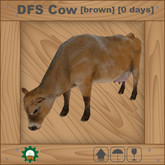 DFS Cow [brown]