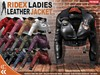 [CHIC] RIDEX LEATHER JACKETS