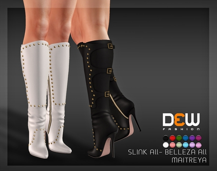 """DEW"" Trixie boots /MAITREYA ALL /SLINK ALL /BELLEZA ALL"
