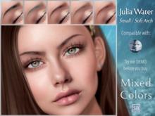 Eyebrows, Genus: JuliaWater.Small.SoftArch.MixedColors