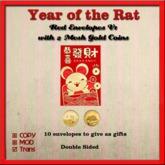 Year of the Rat Red Envelopes V1 (Trans)