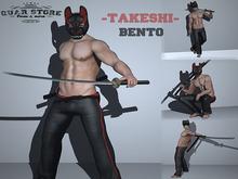 Quar store - Takeshi pose pack