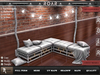 {::ROAR::} Full Perm Mesh Romantic Candle Lights Detail L Sofa