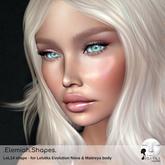 Elemiah.shapes.LEL14 - for Lelutka Bento head NOVA & Maitreya