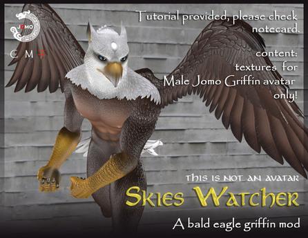 WEAR ME -. Jomo Griffin Mod_Bald Eagle