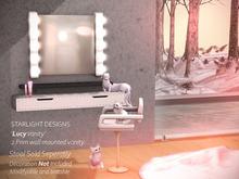Starlight Designs - The Lucy Vanity ON SALE Inworld @ Flourish event.
