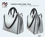 No Mercy / Pantent Leather  Bag Black White