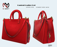 No Mercy / Pantent Leather Bag Red