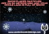 ~ Christmas snowflakes particle engine snow emitter real snow effect