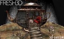 Fresh3D Steampunk Cup Set