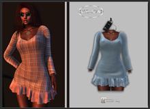 Baboom-Dress- Lucie-plainblue -Maitreya