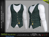 FashionNatic - Jaxtyn Vest with Top Petrol - Signature Gianni, Belleza - Jake, Legacy