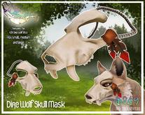 KZK Dire Wolf - Skull Masks