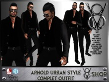 +V8 SHOP+ ARNOLD URBAN STYLE COMPLET OUTFIT