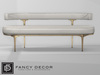 Capsule sofa   white leather