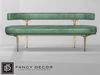 Fancy Decor: Capsule Sofa - Green (pg)