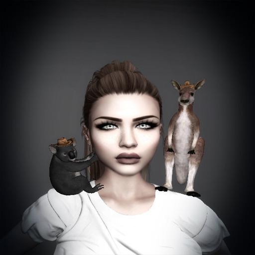 Kangaroo and Koala Shoulder Pets by Tina