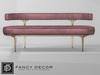 Fancy Decor: Capsule Sofa - Red (pg)