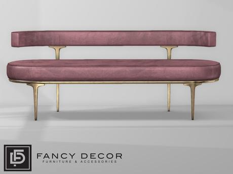 Fancy Decor: Capsule Sofa - Red (pg)