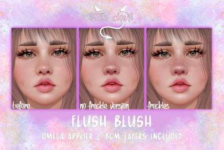 .little devil. - flush blush