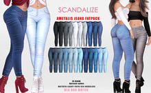 SCANDALIZE. Ametalis. JEANS. FATPACK