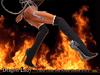 !Skifija Dragon Lady  Lace Over the Knee Boots V.0.2