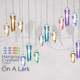 *OAL* Hanging Crystals