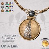 *OAL* Memorial Locket Eternal Flame
