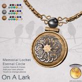 *OAL* Memorial Locket Eternal Circle