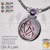 *OAL* Lockets of Love ~ Triquetra Heart