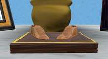 DM Bronzed Baby Shoes