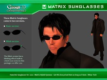 Gaagii - MATRIX SUNGLASSES