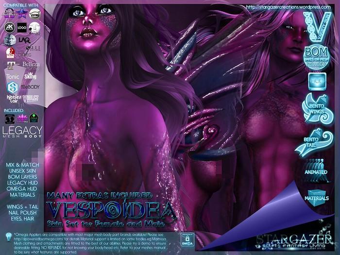 [Stargazer Creations] Skin Set - Vespoidea