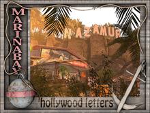 hollywood alphabet