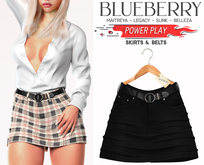 Blueberry - Power Play - Skirts - Classic - Black