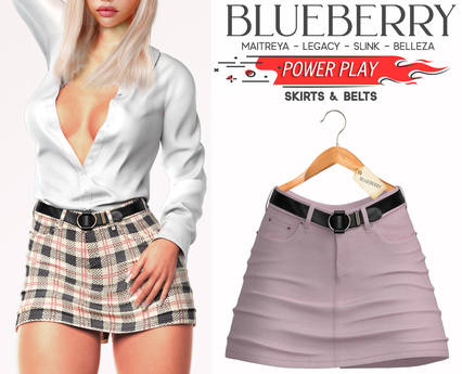 Blueberry - Power Play - Skirts - Classic - Soft Pink