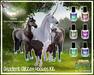 Teegle Horse/TeeglePet - Hoof Gradient Glitter