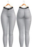 Blueberry - Power Play - Jeans - Denim - White